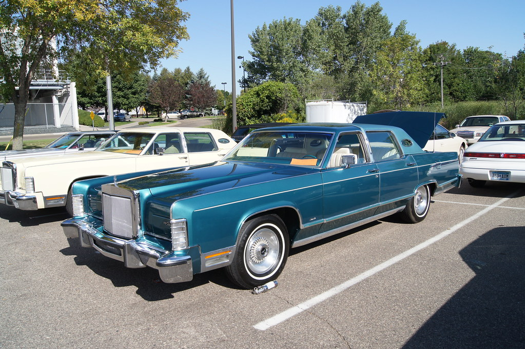 1979 Lincoln Continental Town Car Lincoln Amp Continental Ow Flickr