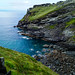 Coastline at Tintagel, Cornwall