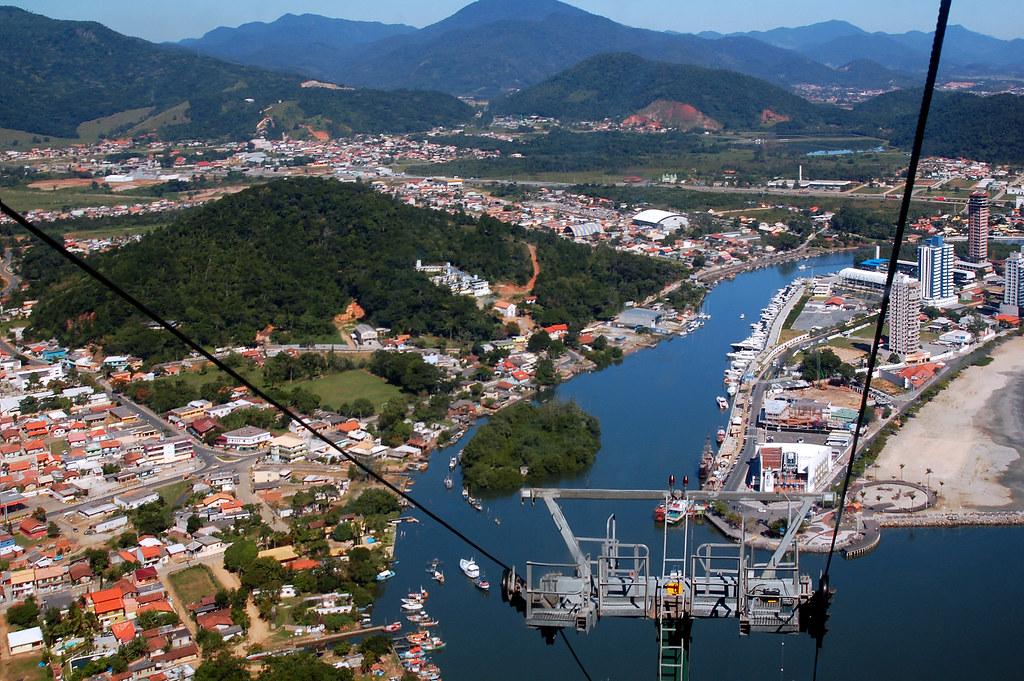 Cable Car Of Balneario Camboriu City Santa Catarina State