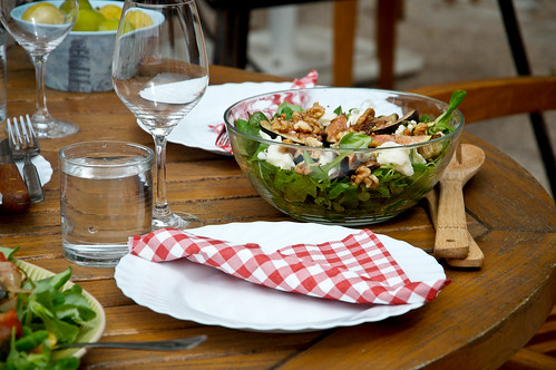 Fig, Goats Cheese Salad - August 13th 2012 | by The Hungry Cyclist