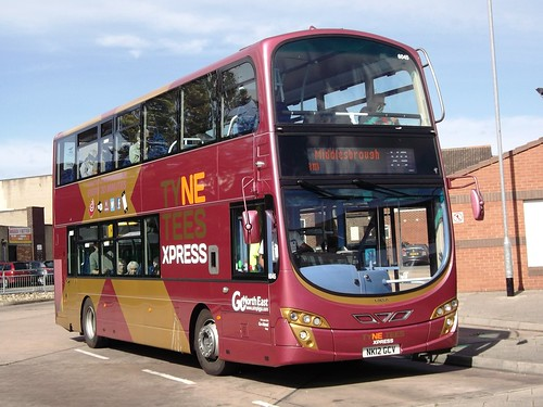 6045-NK12GCV_Peterlee_X9 | by Northern Bus Photos