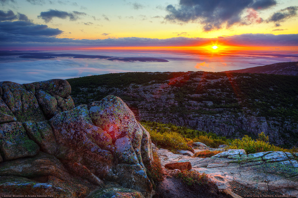 cadillac mountain sunrise this sunrise photo was captured. Cars Review. Best American Auto & Cars Review