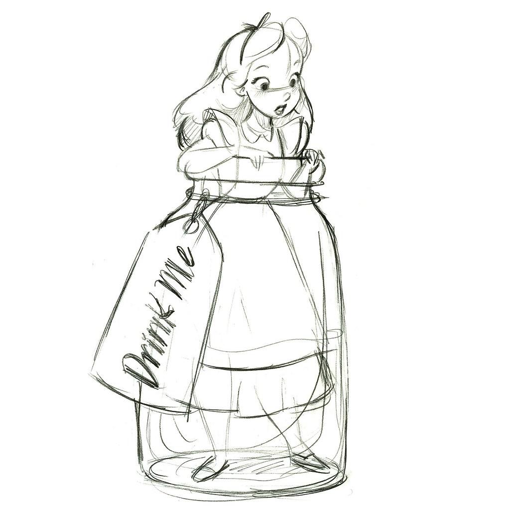 ''Drink Me'' Alice in Wonderland Ornament - Product Image ...