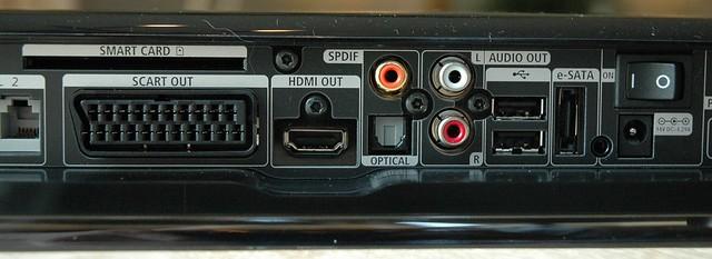 UPC Horizon mediabox achterzijde aansluitingen connectoren ...Upc Horizon Logo