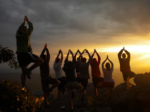 Yoga at Annapolis Rocks | by Gettysburg College