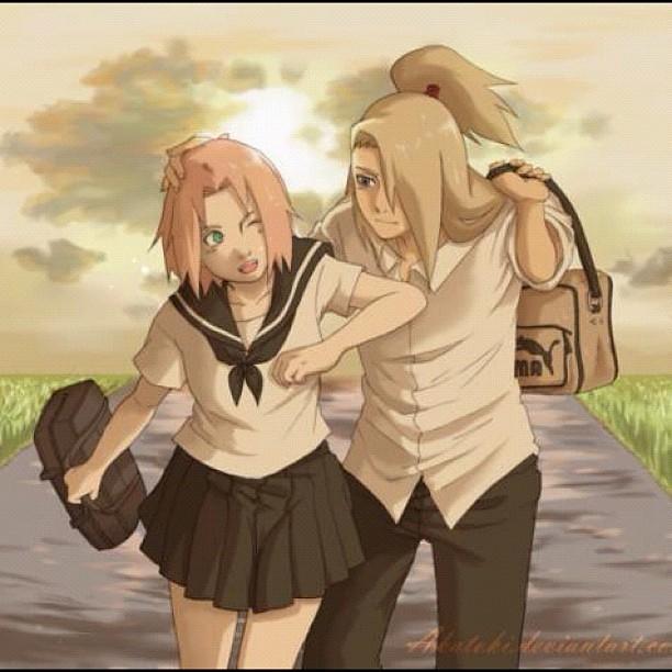 Manga Anime Romance Comics: #sakura #ninja #peaceful #love #couple #manga #anbu #anime