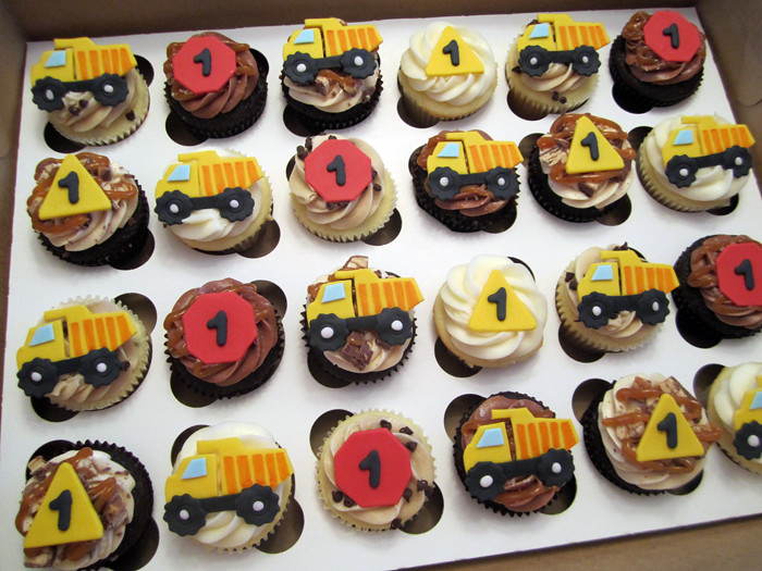 Dump Truck Birthday Cupcakes Mindy Bortz Flickr