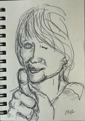 Maria Cabanyes in Pencil by r3nn3r