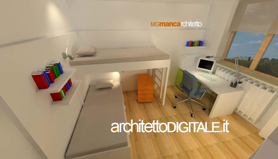 Progettazione Di Interni On Line : Progetto di interni di un appartamento di mq camera bu flickr