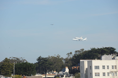 Endeavour over SF | by x9x2x