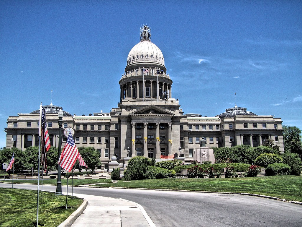 Boise Idaho Idaho State Capitol Historic Building Flickr