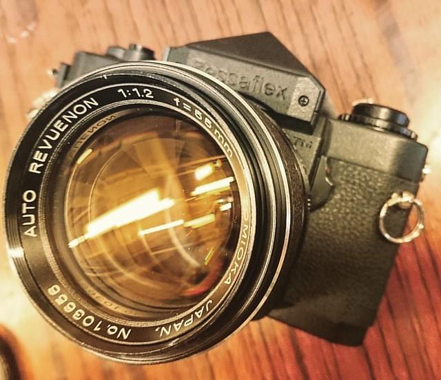 Tomioka Revuenon 55mm f1.2 M42世界之最高點