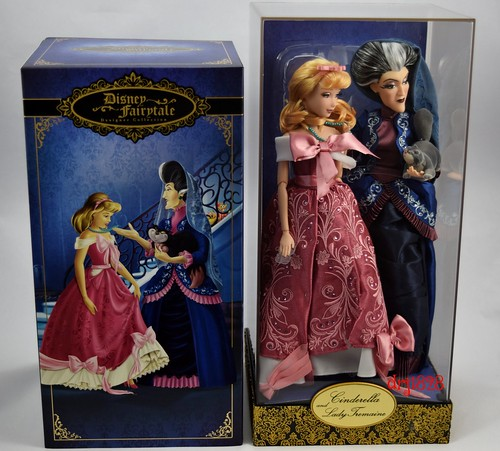 Cinderella Fairytale Fashion Pack Doll Accessories: Cinderella And Lady Tremaine Doll Set