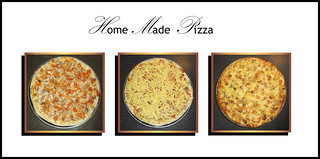 * My Home Made Chicken Satay Pizza * | by pareeerica