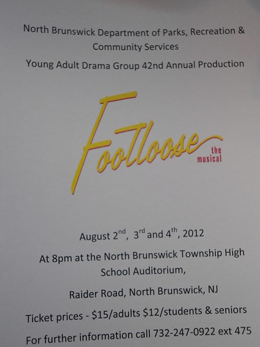 YADG Flyer: Footloose 2012 | by RCCHALC