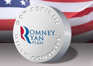 Romney Ryan Plan Birth Control | by DonkeyHotey