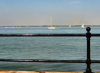 Looking across the Solent from my bench. | by ronsaunders47
