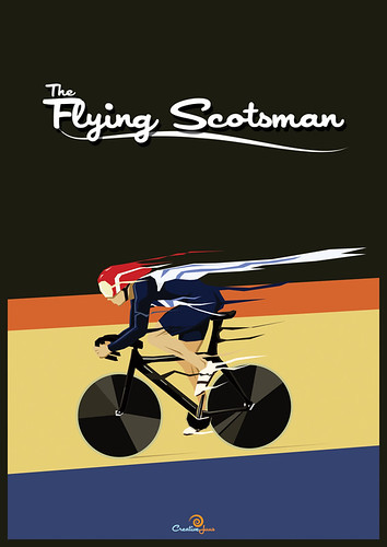 The Flying Scotsman Poster | by JasonWStanley