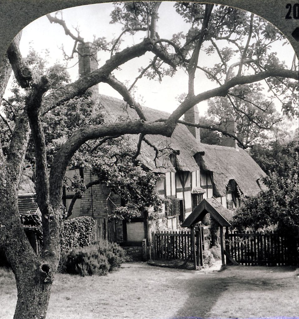 Anne Hathaway's Cottage, Shottery, England Early 1900s