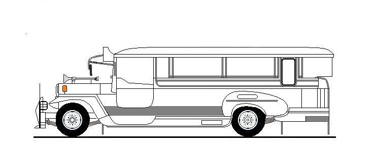 Pictures Of Jeepney Side View Drawing Rock Cafe