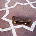 Abandoned skateboard