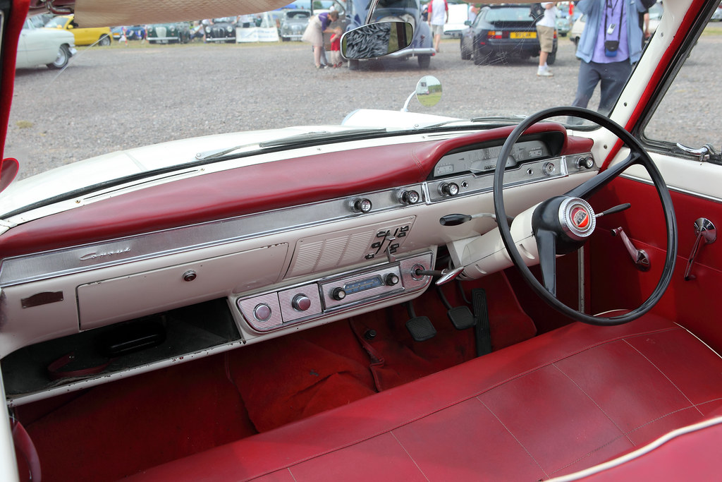 New Ford F150 >> Ford Consul 375 Convertible, interior & dash, c1961 | Flickr