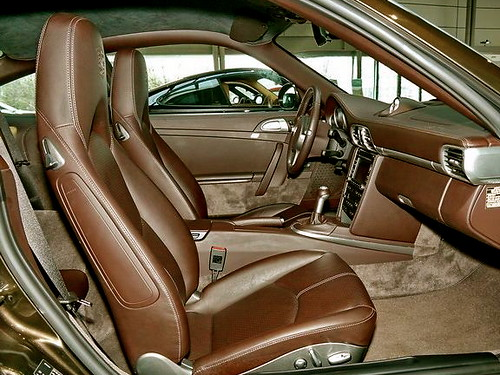 porsche cocoa full leather interior approved porsche 911 flickr. Black Bedroom Furniture Sets. Home Design Ideas