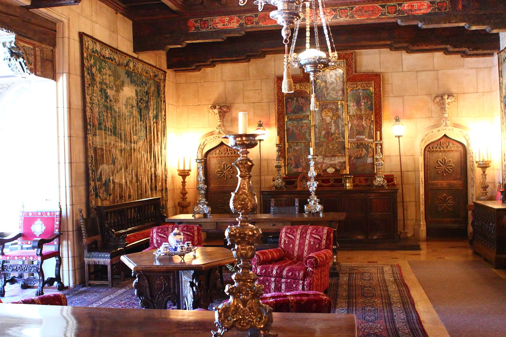 Hearst Castle Room