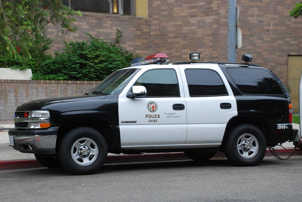 los angeles police dept chevrolet tahoe in downtown los a flickr. Black Bedroom Furniture Sets. Home Design Ideas