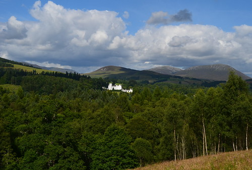 August Tour Scotland photograph of Blair Castle on visit to Scottish Highlands | by Tour Scotland Photographs