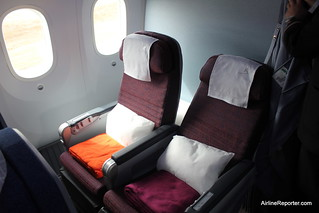 LAN Business Class | by AirlineReporter.com