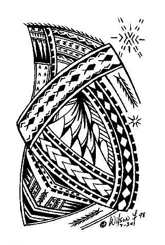 Samoan Design | Annie Pesaleli | Flickr  Samoan Design |...