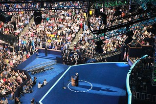 Senator John Kerry hit Republicans hard during speech at the DNC. Photo: Malachi Segers/Youth Radio | by Youth Radio