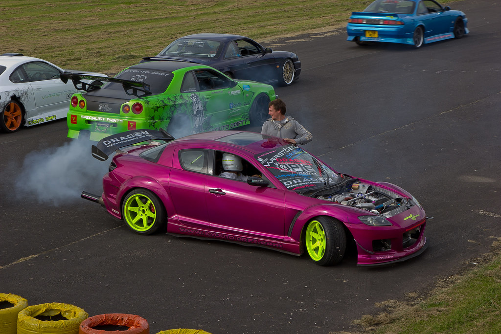 RX8 Drift Car | Forge Action Day 2012 - Castle Combe | torquayadam ...