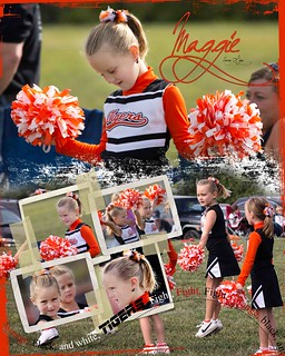 First day of cheering. | by Nancy Harris