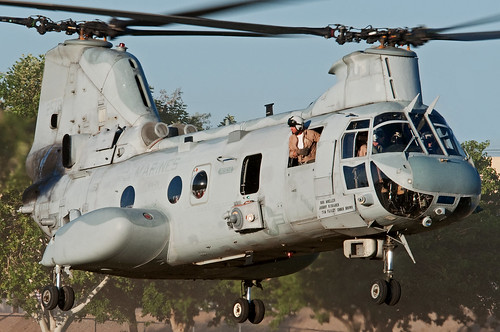 "boeing/vertol ch-46e sea knight | by Matt ""Linus"" Ottosen"