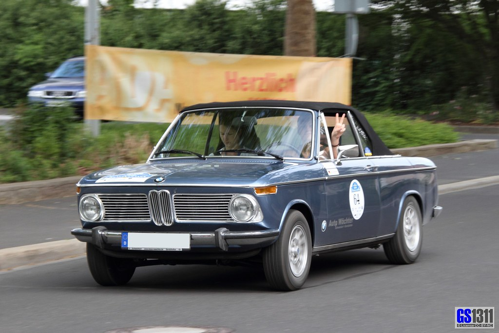 1966 - 1971 BMW 1600-2 Cabrio | The 02 Series sports sedans … | Flickr