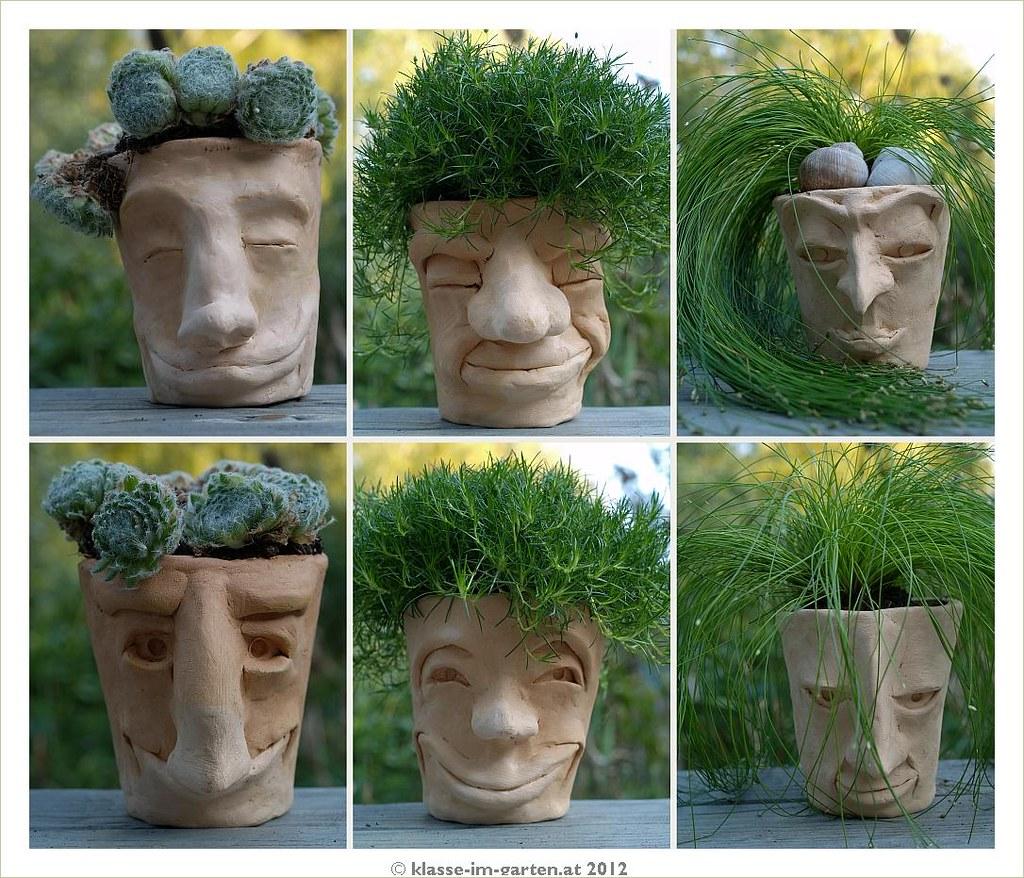 Pot Head Planters: 2011-09 Pot Heads