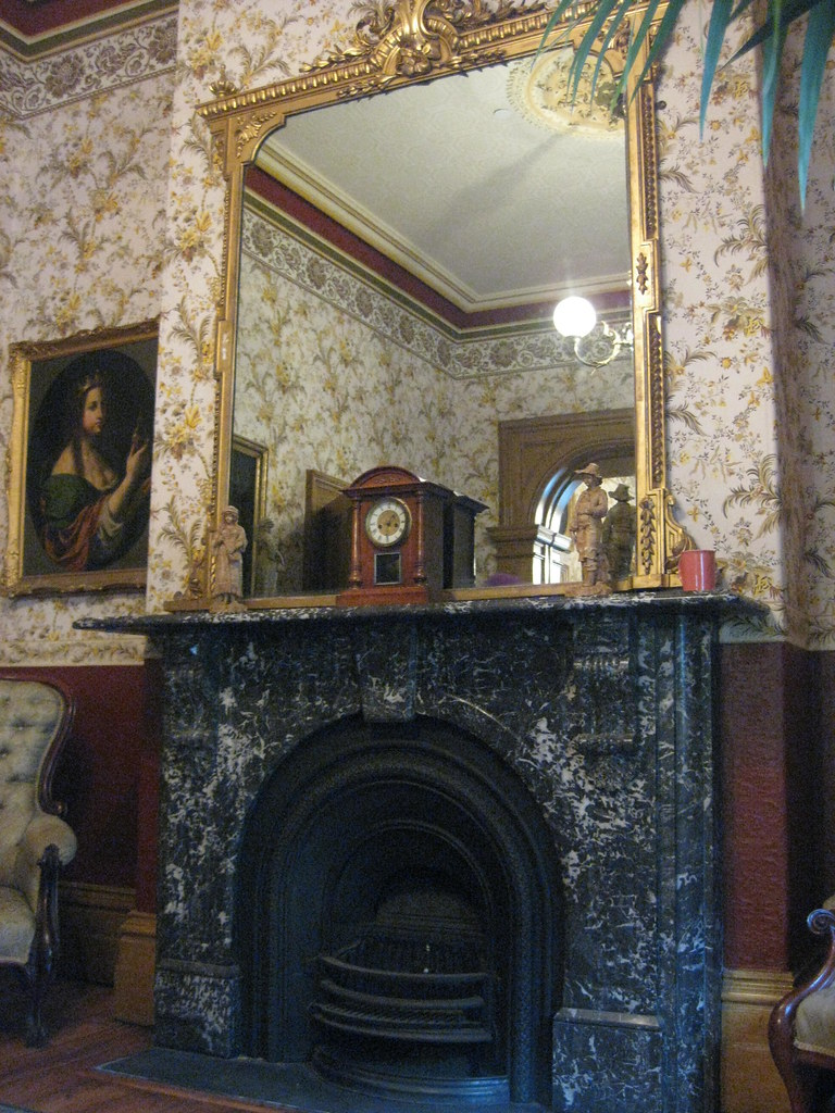 the marble fireplace in the back parlour of tasma terrace u2026 flickr