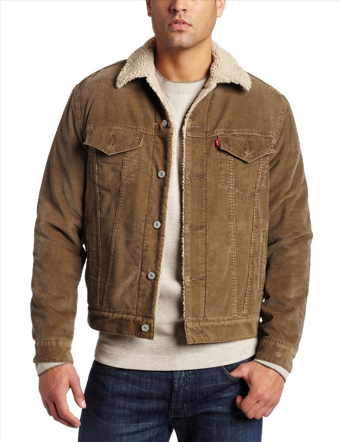 levi s mens corduroy sherpa trucker jacket brown 1107 30 m flickr. Black Bedroom Furniture Sets. Home Design Ideas