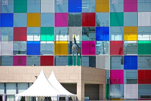 La fa ade du mus e d 39 art moderne et contemporain transform flickr - Musee d art moderne et contemporain de strasbourg ...