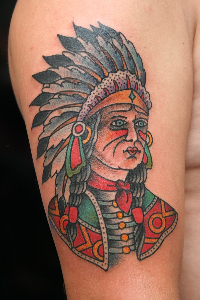 dane mancini inkamatic trieste tattoo traditional indian