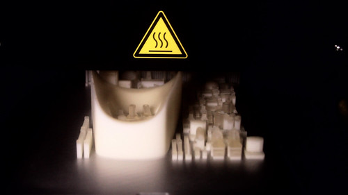 The Shapeways UV Cured Acrylic 3D Printer in Action | by Shapeways: