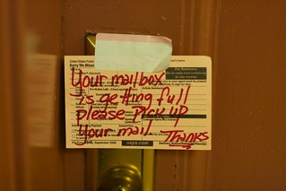 Please Pick Up Your Mail | by JenGallardo
