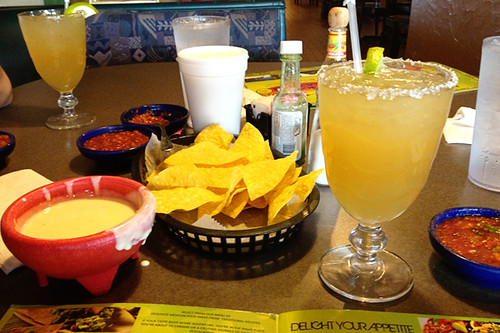 Chips, salsa and queso at Fiesta Cozumel | by lesley zellers