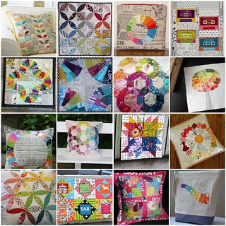 Inspiration Mosaic for Mouthy Stitches Round 2 Swap | by jenjohnston