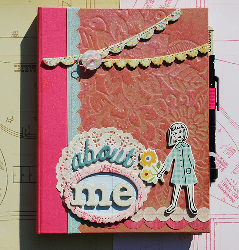 Smash Book Cover Ideas : Smash book altered cover kate vickers for