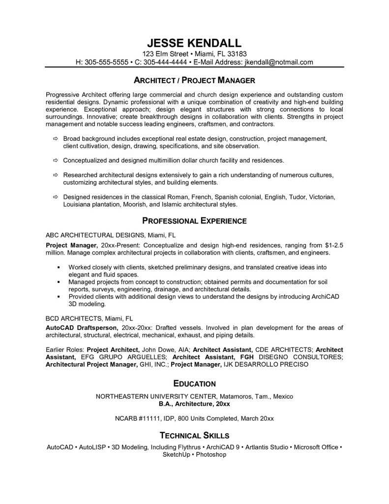 ... One Page Resume Examples | By Resumeexamples  Cover Pages For Resumes
