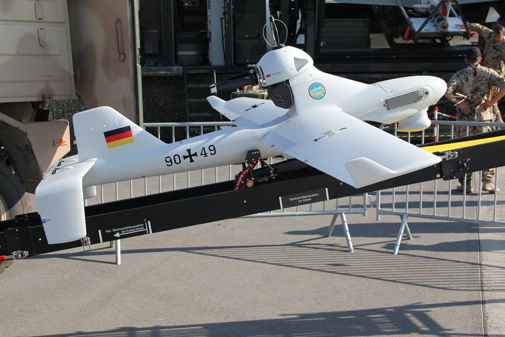 German army Luna X-2000 UAV on...