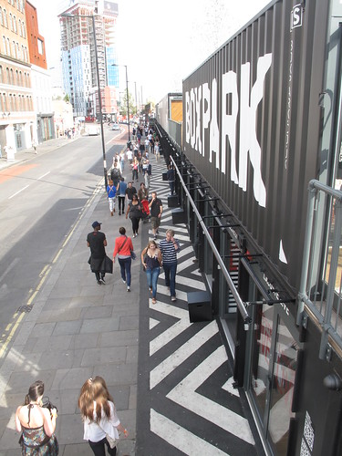 Shoreditch BoxPark pop-up mall | by duncan